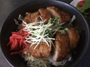 Pork Katsu on Rice (Donburi)