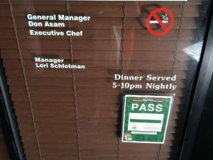 Uhm, No executive chef?