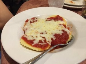 The Friend's Daughter's Cheese Ravioli - Child's Portion