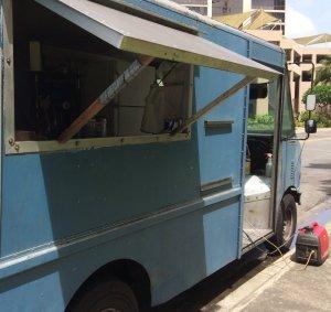 """Blue Teppanyaki"" Truck"