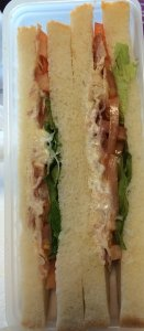 Bacon, Lettuce, Tomato Sandwich - Lunch