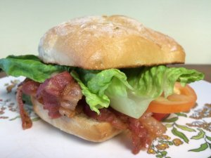 BLT on Ciabatta