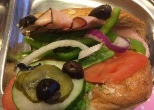 Subway Kid's Meal Sandwich