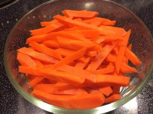 Carrots - Hand Chopped