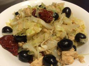 Sautéed Vegetables and Canned Tuna