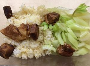 Quinoa mix, Lu Rou, Celery