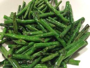 Dry-Fried Long Beans