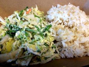 South Shore Slaw and Hapa Rice