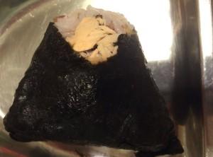 Salmon Flake Musubi