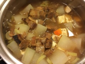 Winter Melon Hot Pot with Lu Rou