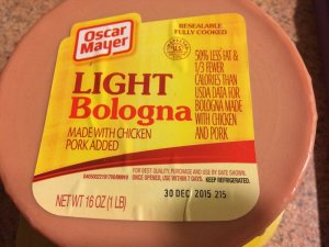 My Bologna has a First Name ...