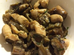 Miso Eggplant with Chicken