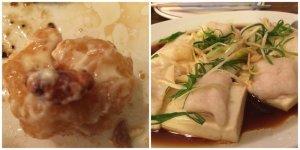 Honey Walnut Shrimp Steamed Fish Filet on Tofu