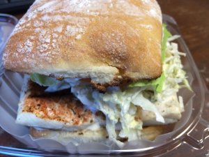 Grilled Ono Sandwich