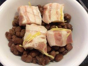 Pork Belly, Azuki Beans