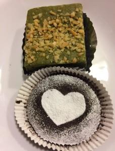 "Green Tea Square, ""Kona Chocolat"""