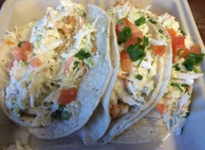 South Shore Grill Fish Tacos