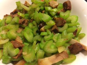 Stir-Fried Celery with Lu Rou
