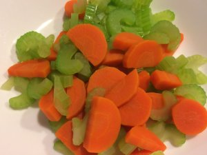 Parboiled Carrot and Celery