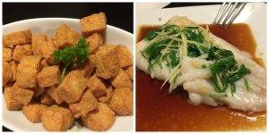 Salt and Pepper Tofu Steamed Fish Filet