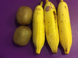 Kiwi, Banana