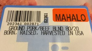 Pork/Beef Blend