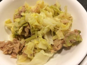 Kalua Pork and Cabbage (Leftover)