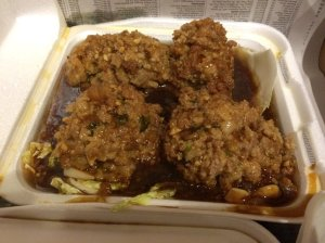 Lion Head Meatballs