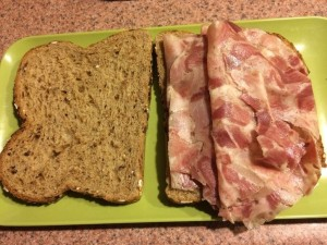 Head Cheese Sandwich with Dave's Killer Bread