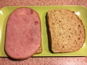 Ham Steak Sandwich