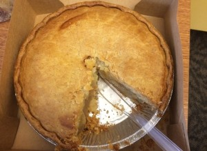 Apple Caramel Pie