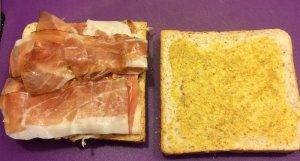 Meat between bread