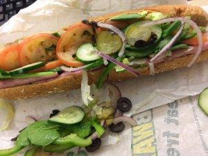 Black Forest Ham Sandwich - Subway