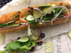 Black Forest Ham Sandwich - Subway