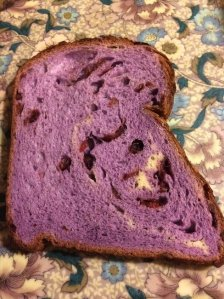 Taro Cranberry Bread