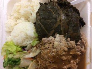 """Hawaiian"" Plate Lunch"