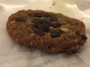 Oatmeal Cookie from Starbucks Coffee