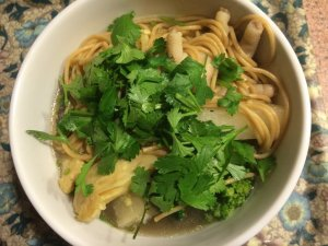 Chicken Feet Noodle Soup