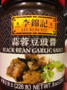 Jar of Black Bean Garlic Sauce