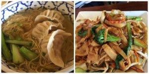 Chicken Dumpling Soup Noodle Vegetable Chow Funn