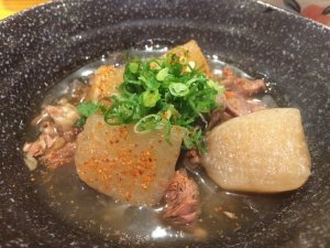 Beef Tendon Stew with Turnip