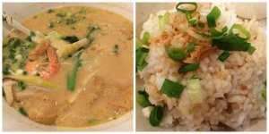 Kabocha Soup with Rice