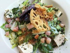 Miso Tofu Salad