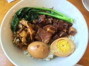 Braised Pork Rice Bowl