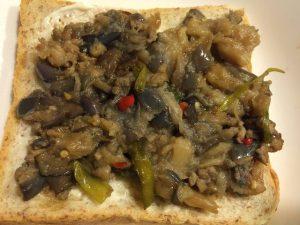 Add Spicy Eggplant