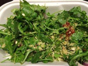 Quinoa + Arugula Salad