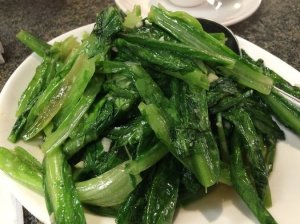 Stir-Fried Greens