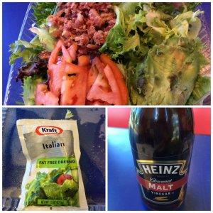 Bacon, Lettuce, Avocado, Tomato Salad