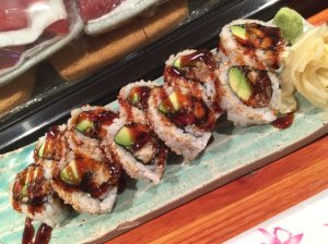 Spider Roll (Soft Shell Crab Tempura)