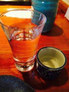 The Cat's Shōchū and Sake sample